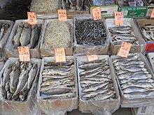 鹹魚 - 維基百科。自由的百科全書