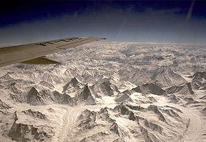 Glaciers near K2 in the People's Republic of C...