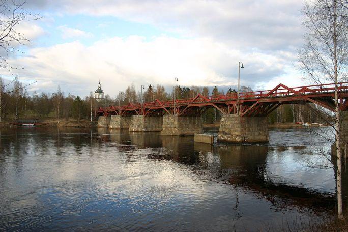 Lejonstromsbron Skelleftea