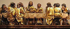"""The Last Supper"" - museum copy of M..."