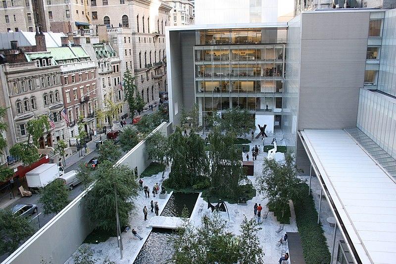 Muzeum Sztuki Nowoczesnej w Nowym Jorku / zdjęcie: Alsandro / CC BY-SA (https://creativecommons.org/licenses/by-sa/3.0)