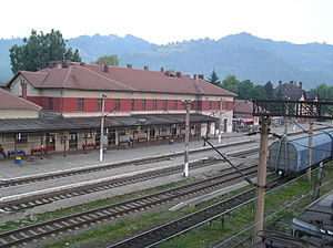 Train Station in Petrosani, Romania