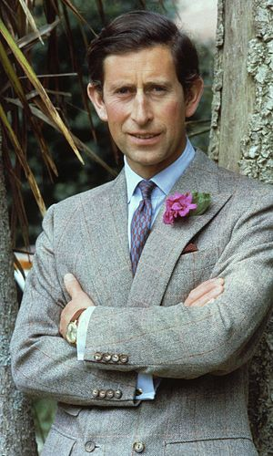 English: His Royal Highness Prince Charles, Du...