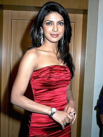 English: Indian actress & Miss World 2000 Priy...