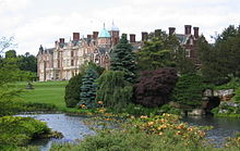 Sandringham House, Elizabeth's private residence in Norfolk