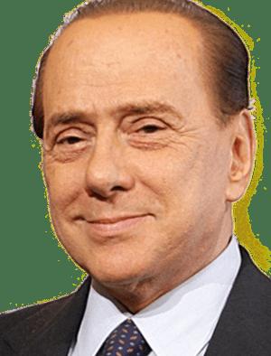 Silvio Berlusconi in a meeting