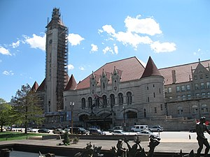 English: Union Station and meeting of waters s...