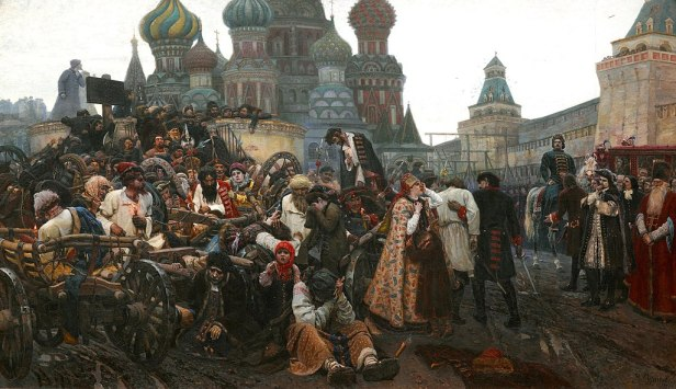 """""""The Morning of the Streltsy Execution"""" by Vasily Surikov"""