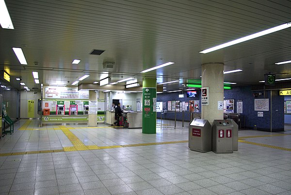 List Of Toei Subway Stations Wikivisually