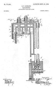 Overhead valve engine