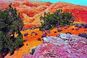 English: moab landscape photo
