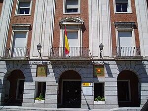 Español: Sede de la AECID (Agencia Española de...