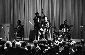 Arnett Cobb and Band in Concert at Filmforum, ...
