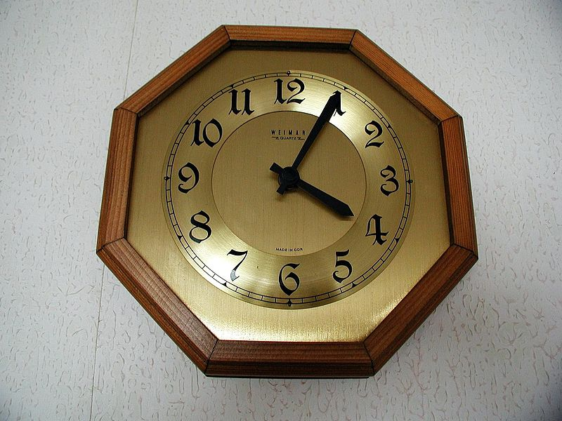 File:Clock analog clock.jpg