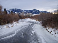 East Gallatin River at Cherry FAS, near Bozema...