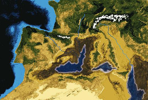 Las crisis salinas del Mediterráneo crearon un entorno favorable para el Oreopithecus