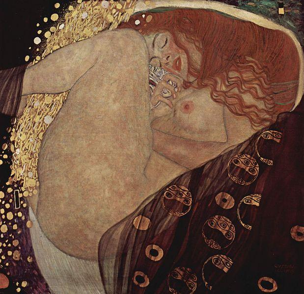 Bild Danae entstanden 1907-1908