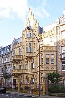 Quartier imprial de Metz  Wikipdia
