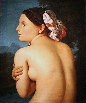 Jean Auguste Dominique Ingres - La Baigneuse