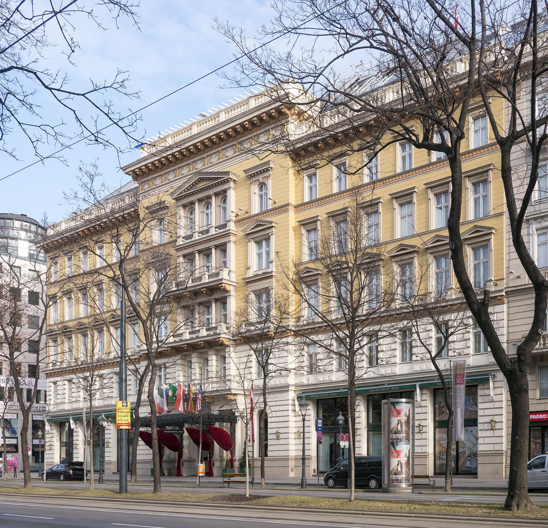 Grand Hotel Wien  Wikipedia