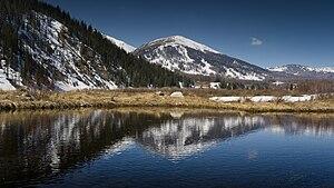 Русский: Алтайские горы, Казахстан English: Al...