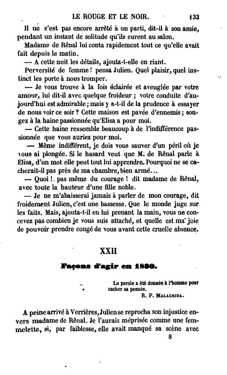 En Rouge Et Noir Parole : rouge, parole, Page:Le, Rouge, Noir.djvu/143, Wikisource