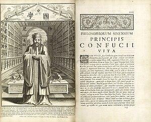 """Confucius Sinarum Philosophus (""""Confucius..."""