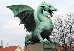 Dragão da cultura européia.