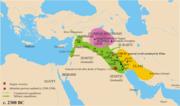Oriente Medio hacia 2300a.C.
