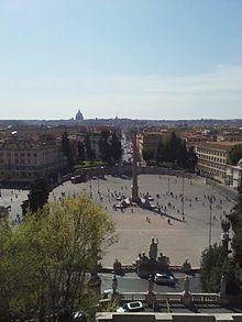 Piazza del Popolo Roma  Wikipedia