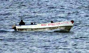 English: somali pirates at large
