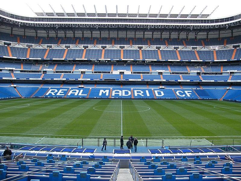 Estadio Santiago Bernabéu , Madrid Lugares turisticos de Madrid