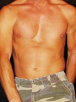 A male torso.