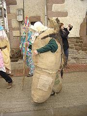 Ziripot - Carnaval de Lantz - Navarra