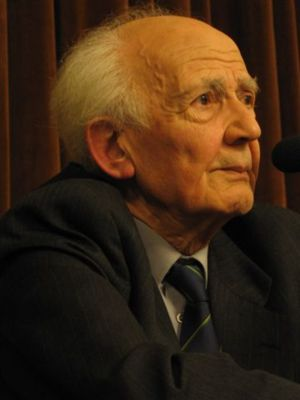 Zygmunt Bauman (b. 1925), Polish philosopher