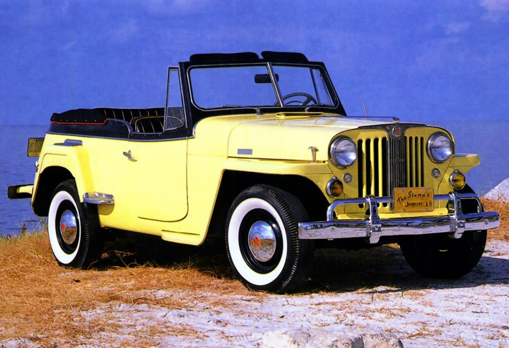 medium resolution of 1950 willy jeepster wiring diagram