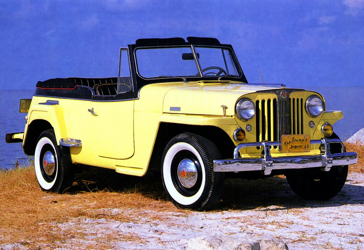 hight resolution of 1950 willy jeepster wiring diagram