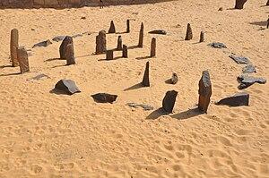 English: Nabta Playa calendar in Aswan Nubia m...