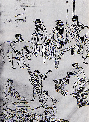 Confucius as administrator