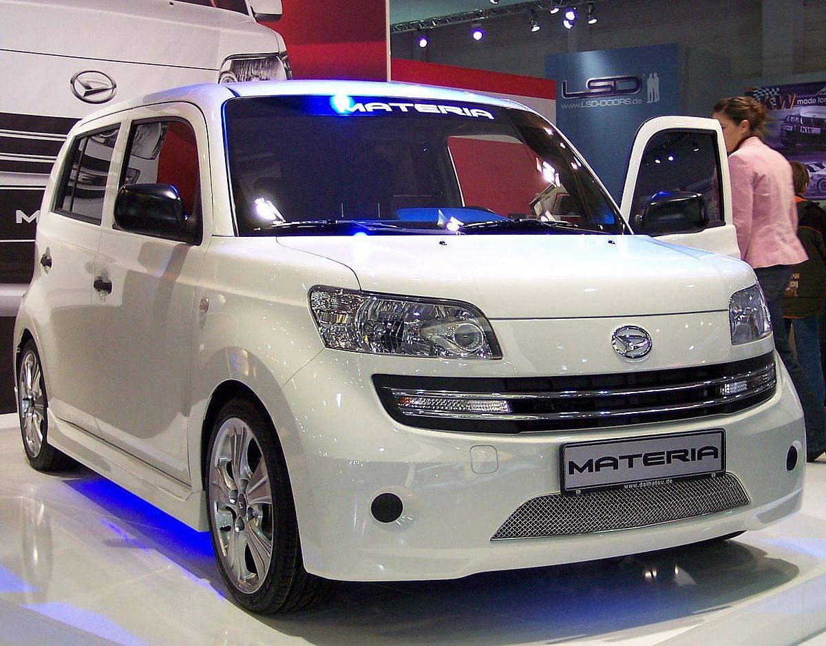 Daihatsu Materia  Wikipedia