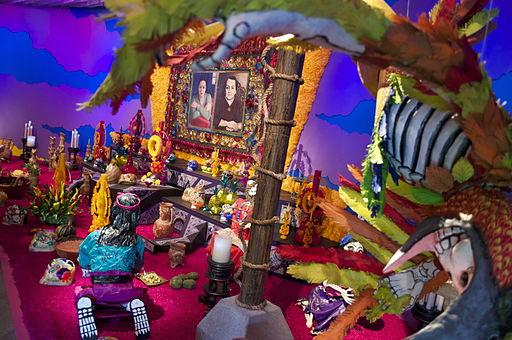 Dia de muertos Full altar