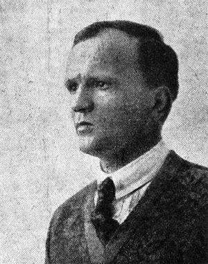 English: Georg von der Vring (1889-1968) was a...