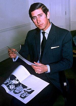 English: portrait of HRH Prince Charles Prince...