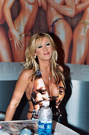Porn star Jill Kelly at the 2003 Adult Enterta...