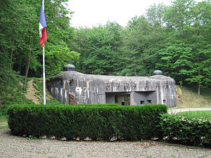 Maginot Line, The Defensive Line facing Germany (1/6)