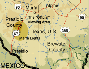 English: Map of Marfa. Converted to PNG by Fib...