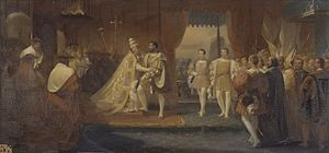English: Meeting_of_Francis_I_and_Pope_Clement...