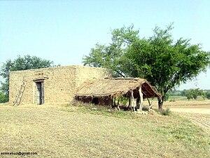 Adnan Sweet Home made from Bricks, Mud and Str...