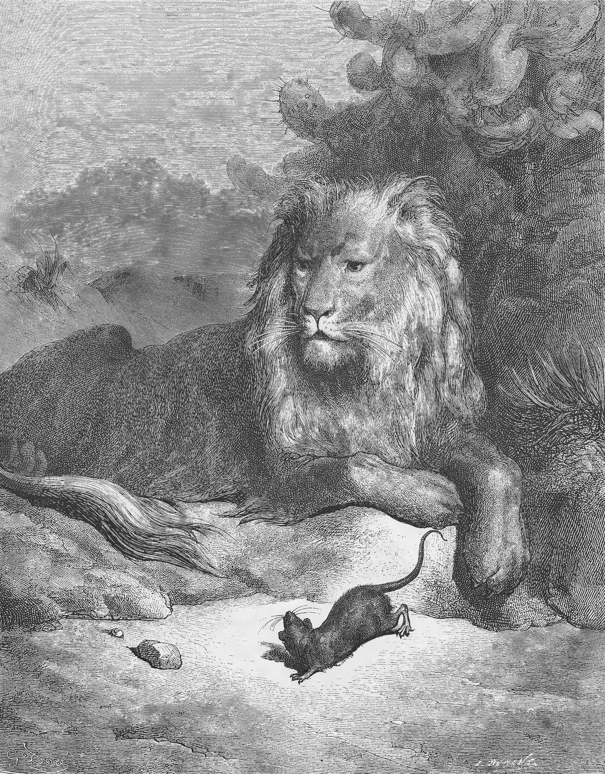 Le Lion Et Le Rat Esope : esope, Fables, Fontaine, Wikipédia
