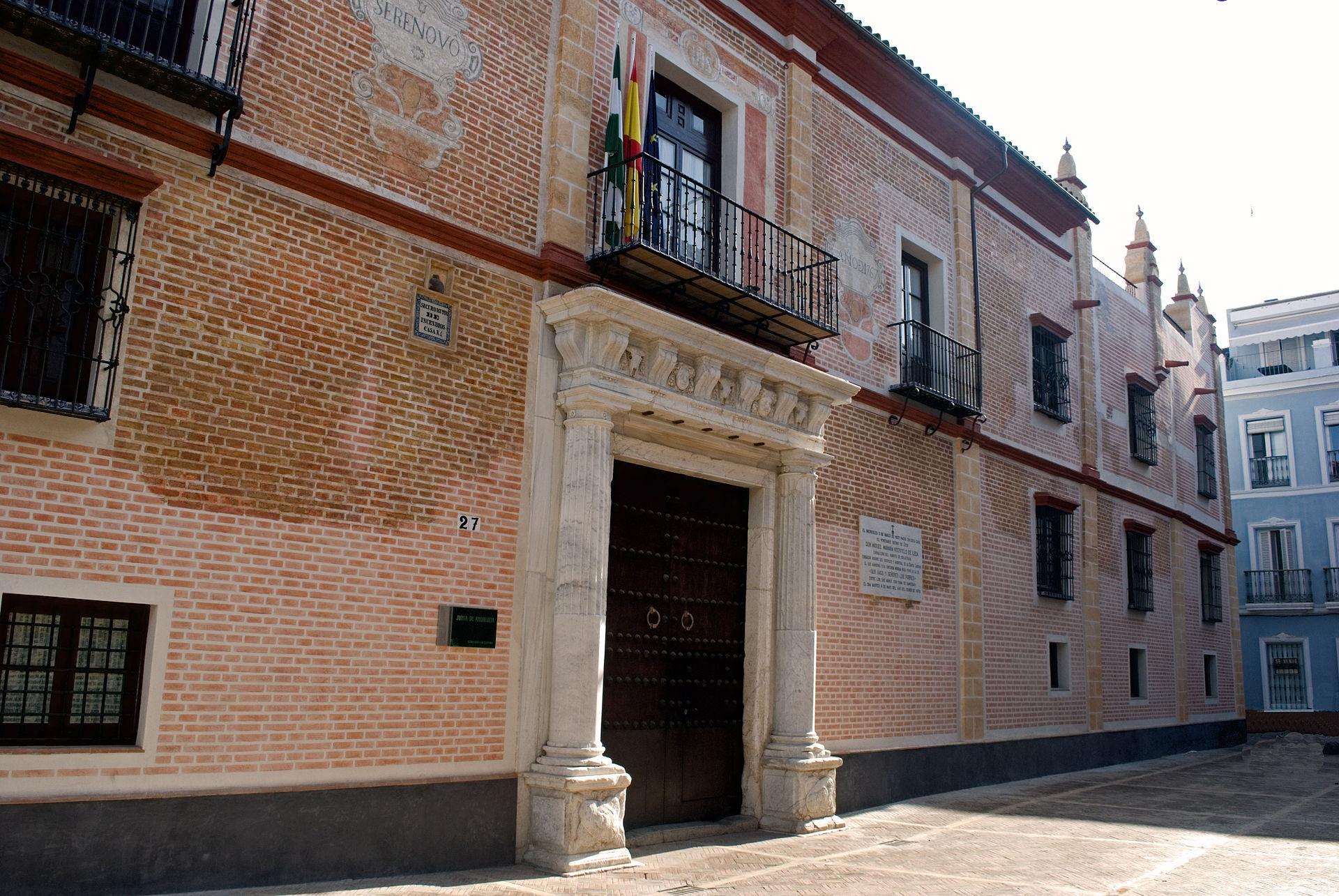 Palacio de Maara Sevilla  Wikipedia la enciclopedia libre